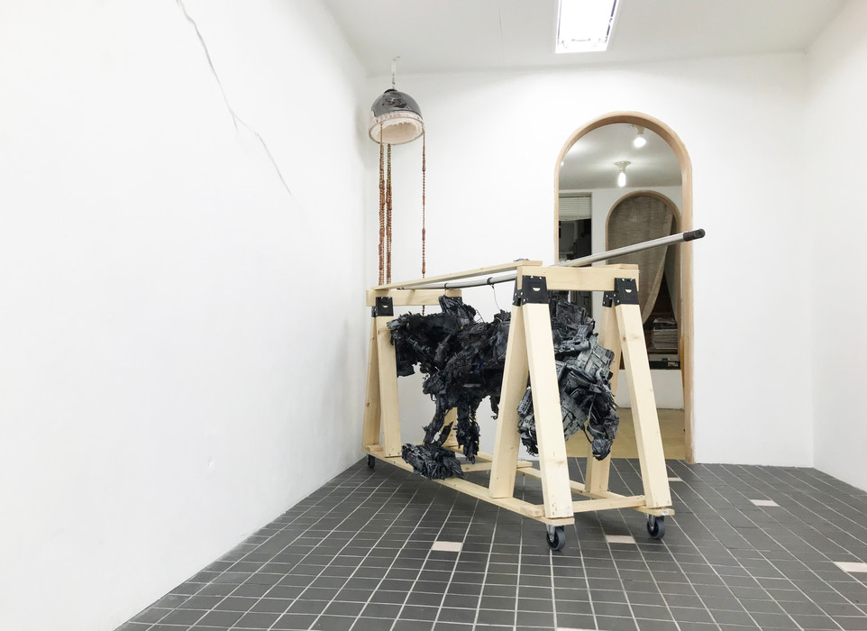 installation view : MATIM 12th contact - travelince -トラベリンチェ