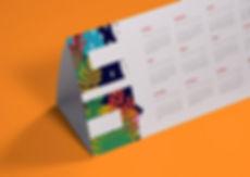 Календарь домик складывающийс