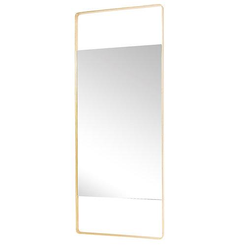 Pastatomas veidrodis, žalvarinis