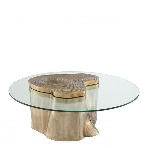 Staliukas, medinis, stiklinis