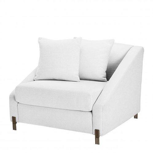 Kėdė, medžiaginė, žalvarinė