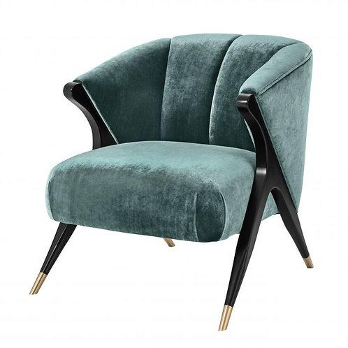 Kėdė, medžiaginė, metalinė, žalvarinė
