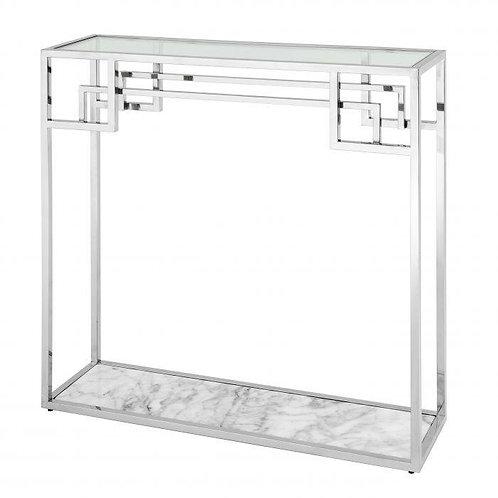 Staliukas iš nerudijančio plieno, stiklinis, marmurinis