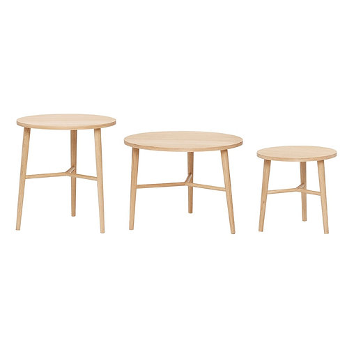 Stalai, apvalus, ąžuoliniai 3vnt.