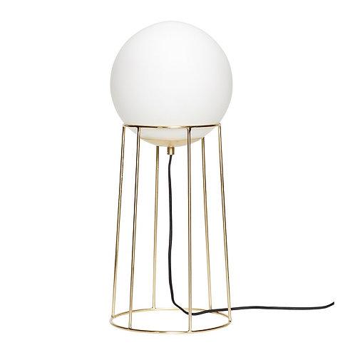 Pastatomas šviestuvas, metalas, stiklas
