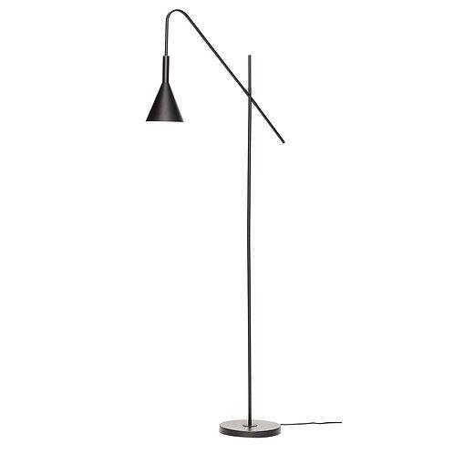 Pastatomas šviestuvas, metalinis, juodas