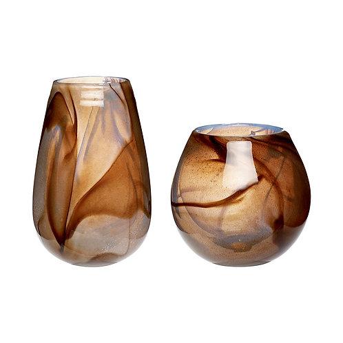 Vazos, stiklinės 2vnt.