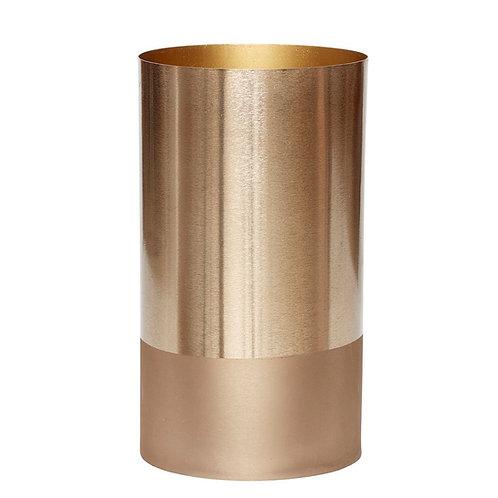 Vaza, žalvarinė, metalinė