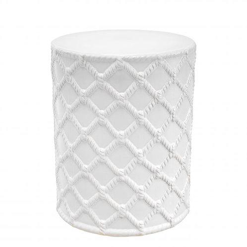 Staliukas, keramikinis, baltas