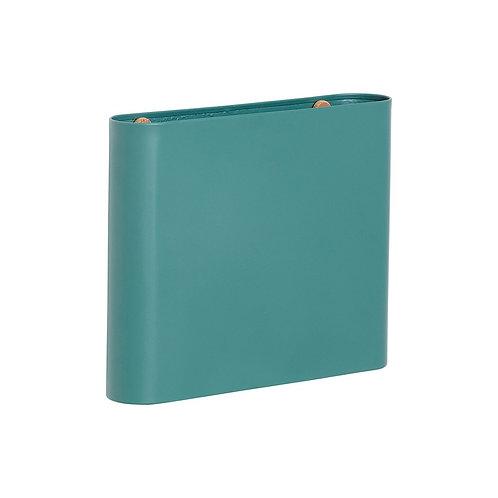 Žurnalų laikiklis, metalinis, žalias