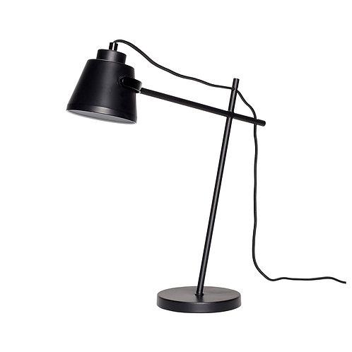 Stalinis šviestuvas, metalinis, juodas