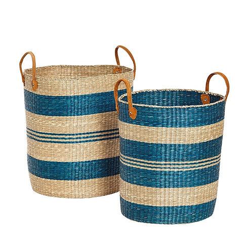 Krepšys su rankena iš jūrų žolės