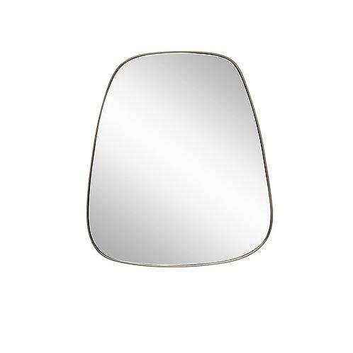 Pakabinamas veidrodis, metalinis
