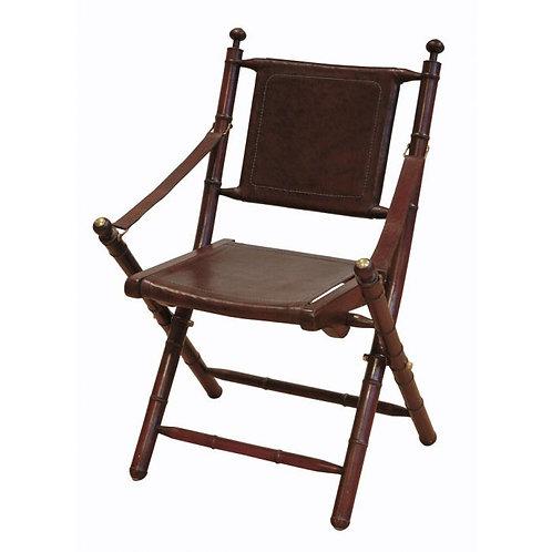 Kėdė, medinė, odinė