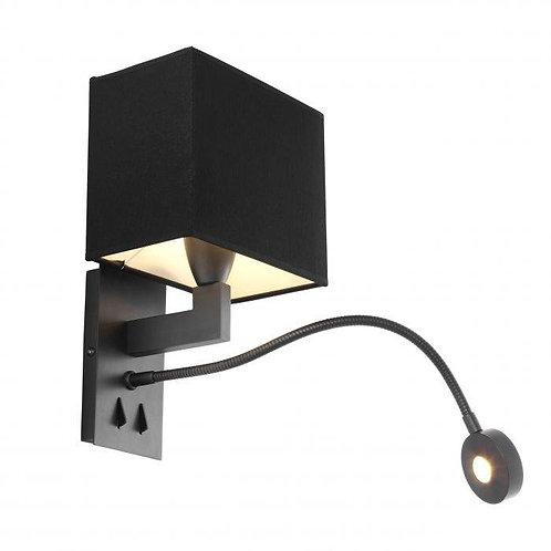 Pakabinamas šviestuvas, metalinis su gaubtu