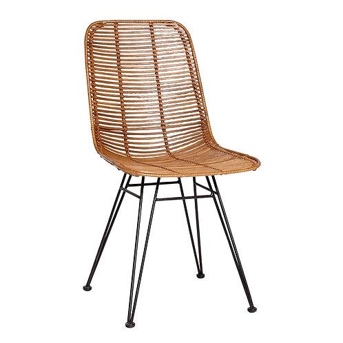 Kėdė, rataninė
