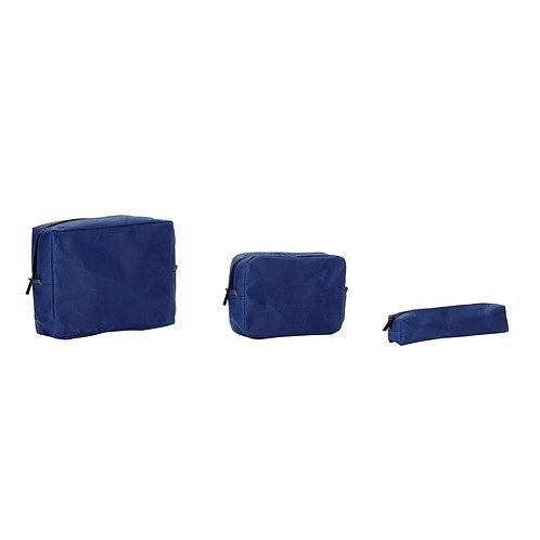 Krepšėliai iš išplaunamo popieriaus, mėlyni 3vnt.