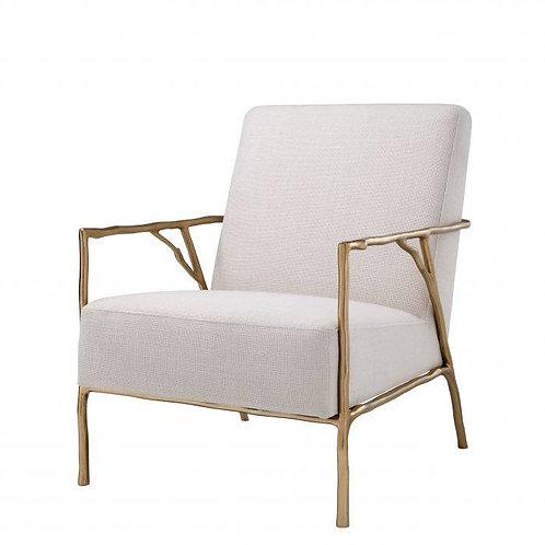 Kėdė iš panamos, metalinė