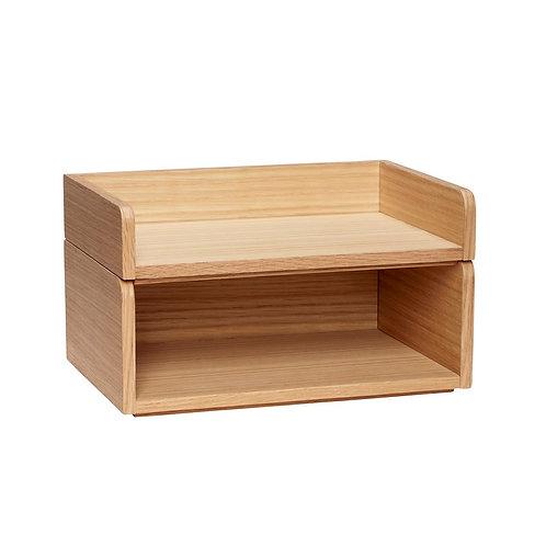 Dėžutė, ąžuolinė 2vnt.