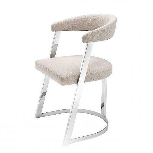 Kėdė, varinė, medžiaginė