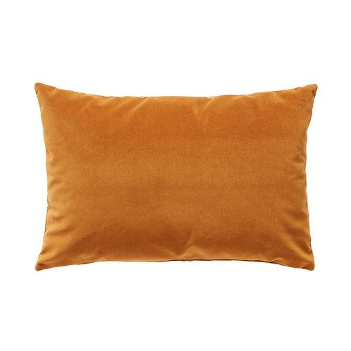 Pagalvė iš veliūro, oranžinė