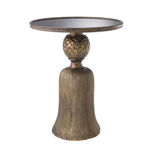 Staliukas, metalinis, stiklinis, rudas