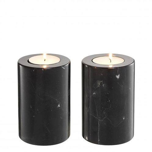 Žvakidės, marmurinės 2vnt.
