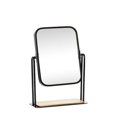 Stalinis veidrodis, medinis, stiklinis