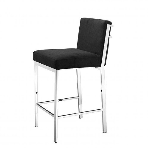 Kėdė. velvetinė, metalinė
