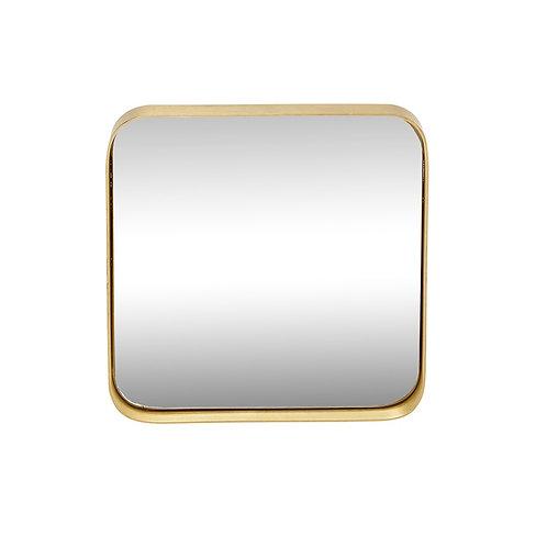 Pakabinamas veidrodis, žalvarinis
