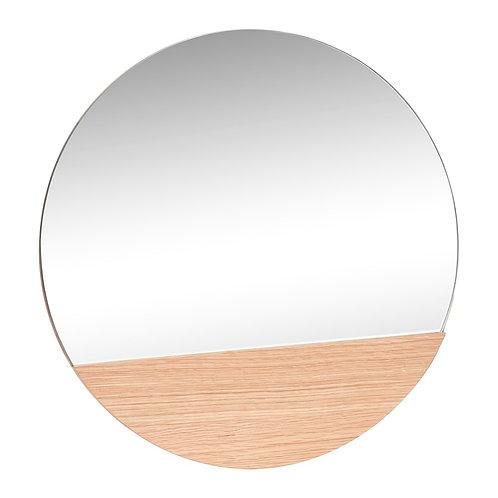 Pakabinamas veidrodis, ąžuolinis