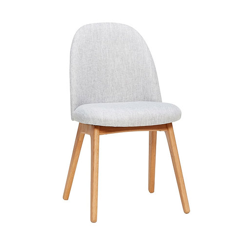 Kėdė, medinė, pilka