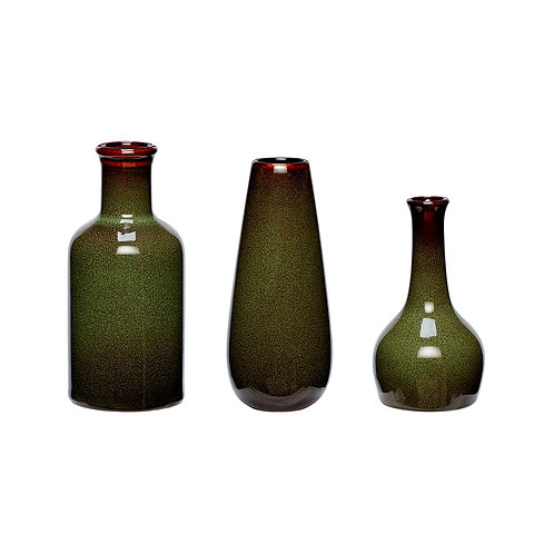 Vazos, keramikinės 3vnt.