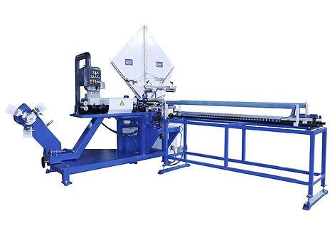 Máquina de fabrico de tubo spiro por cintas Sente