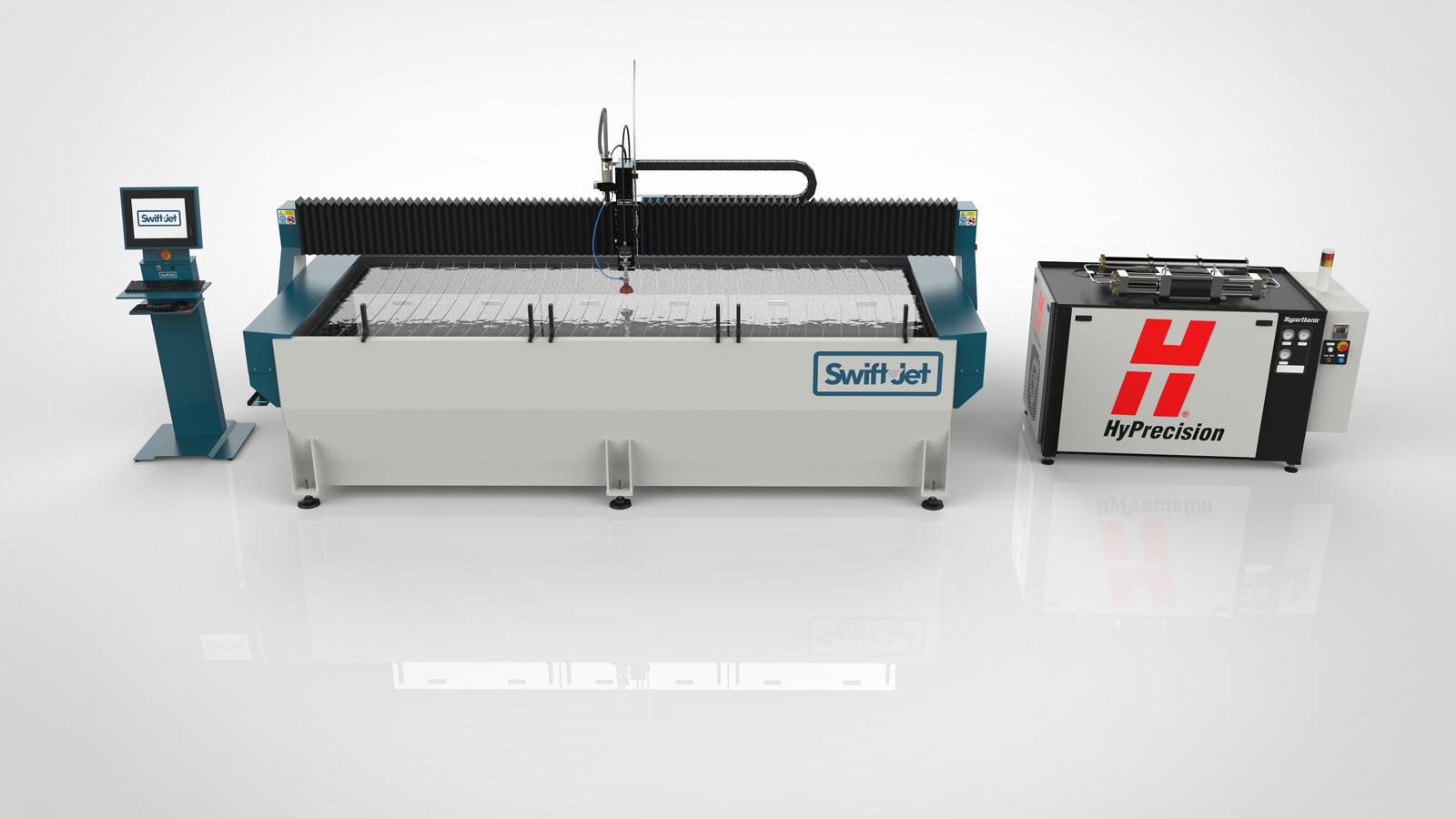 Máquina de jacto de água SwiftJet