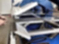 Viradeiras CNC Bima - Esbarros traseiros