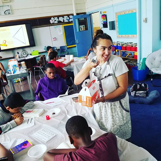 Book Tasting with Ms. Arias