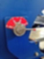 Viradeiras CNC Bima - Regulador de ângulo