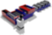 Máquina de fabrico de tubo quadrado e retangular mod Auto-Fold 516