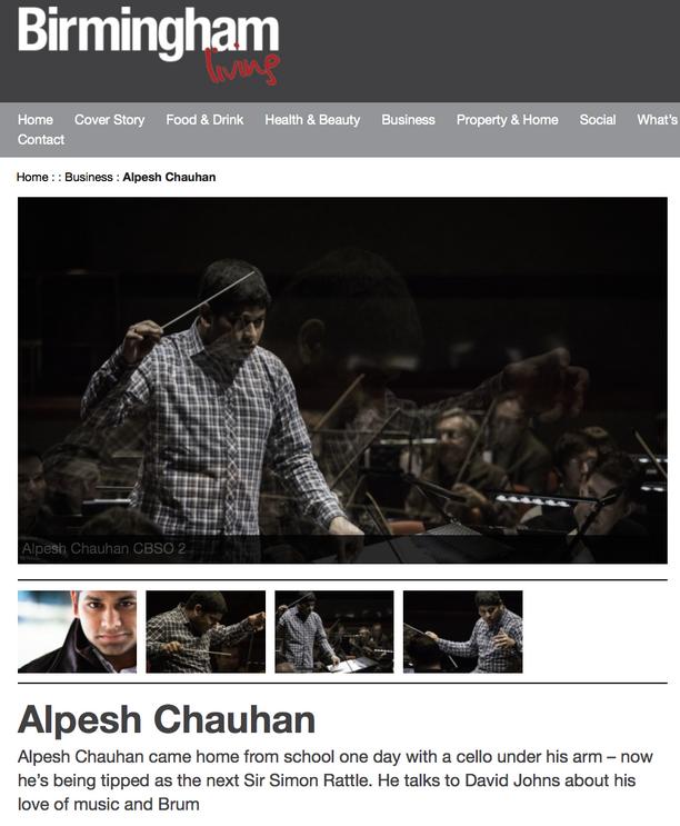 Birmingham Living Magazine features Alpesh