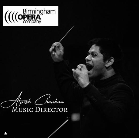 Birmingham Opera Company appoints Alpesh as Music Director