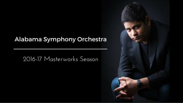 The Alabama Symphony Orchestra announces Alpesh's US debut