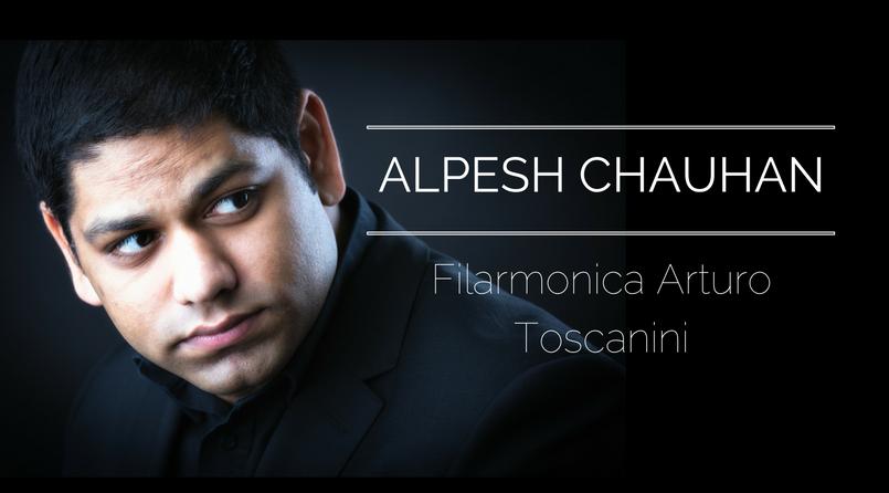 Alpesh Chauhan announced as Principal Conductor of the Filarmonica Arturo Toscanini