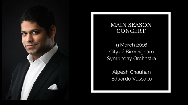 Main season concert with the CBSO