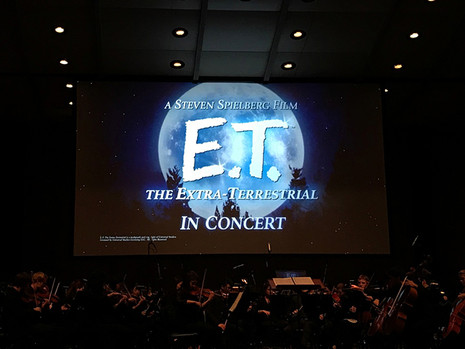Carlos conducts E.T. with the American Youth Symphony