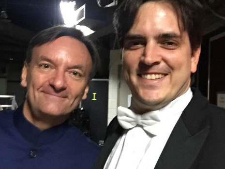 Stephen Hough and Carlos Izcaray launch 2016/17 Masterworks Series with ASO