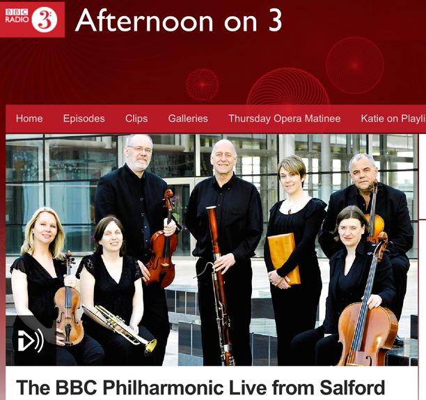 Alpesh conducts BBC Philharmonic Studio Concert