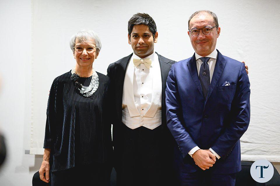 Alpesh opens La Toscanini 2019/20 season in Parma
