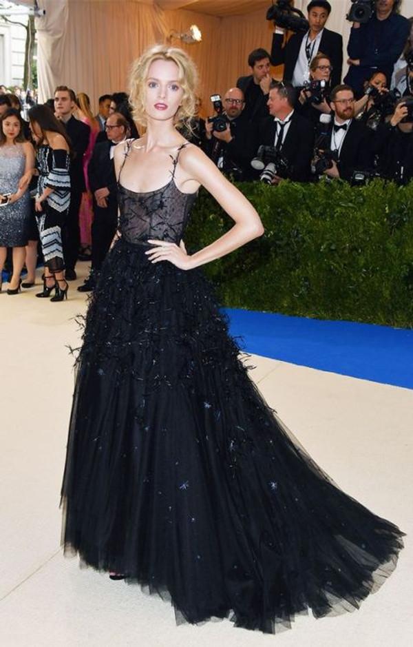 Daria Stroukous veste Dior Haute Couture no met gala