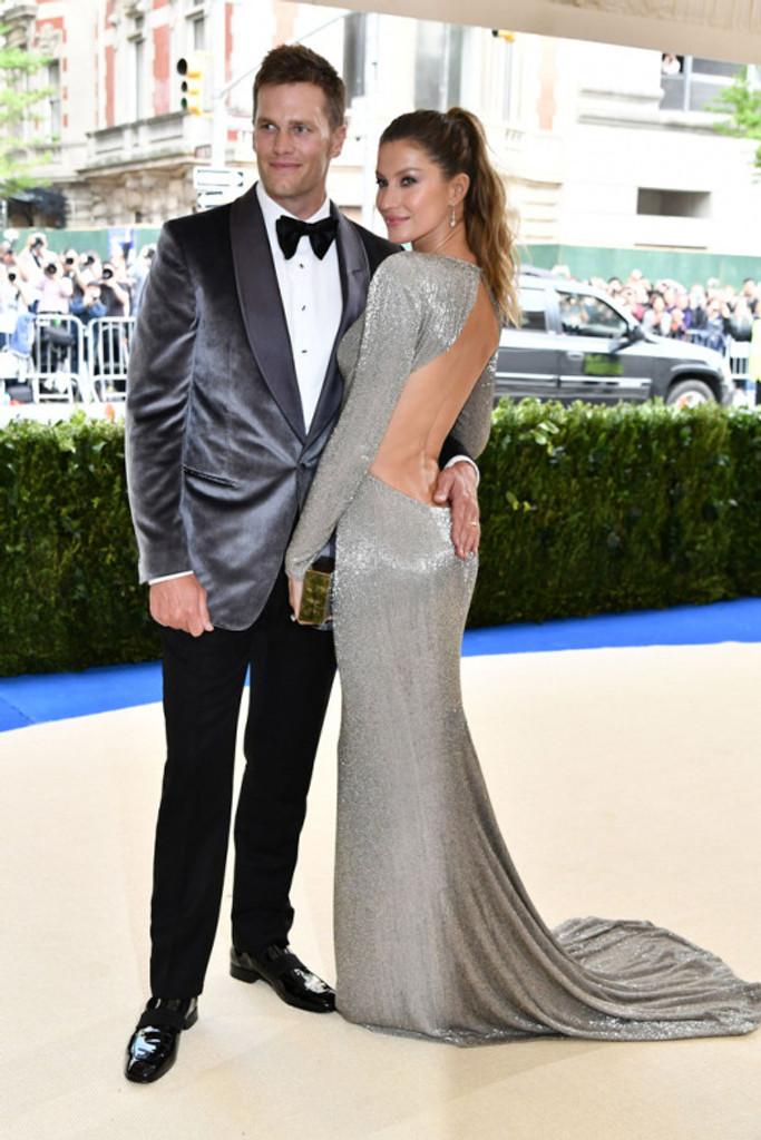 Tom Brady e Gisele Bundchen no Met Gala 2017